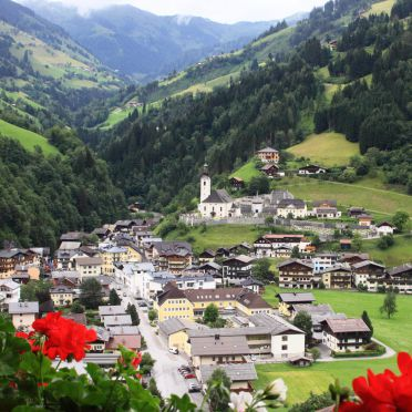 Aussicht, Gruberhütte, Großarl, Salzburg, Salzburg, Österreich