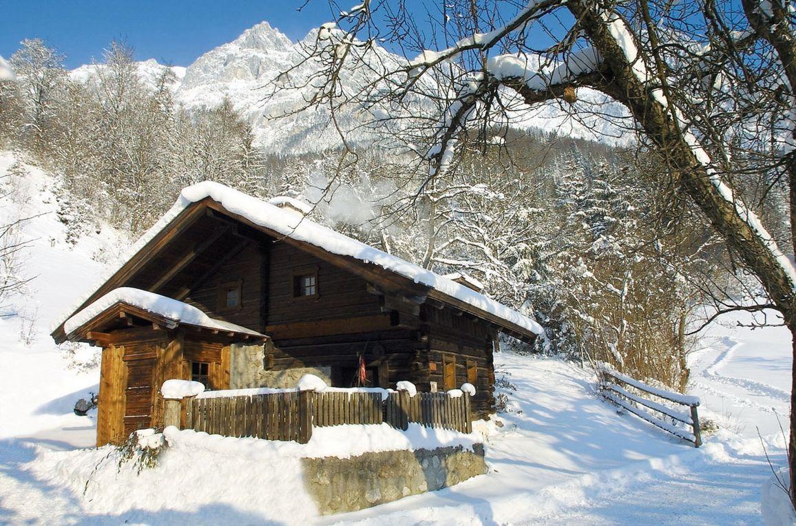 Zetzenberghütte, Winter