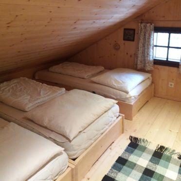 Schlafzimmer, Zetzenberghütte in Werfen, Salzburg, Salzburg, Österreich