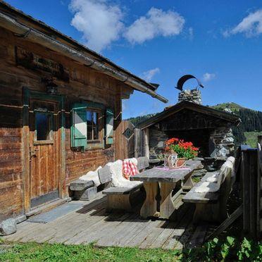 Terrasse, Jagdhütte Auhof, Jochberg, Tirol, Tirol, Österreich