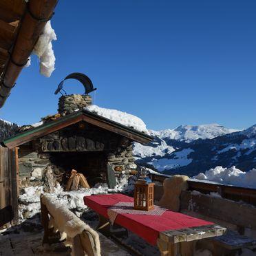 Winter, Jagdhütte Auhof in Jochberg, Tirol, Tyrol, Austria