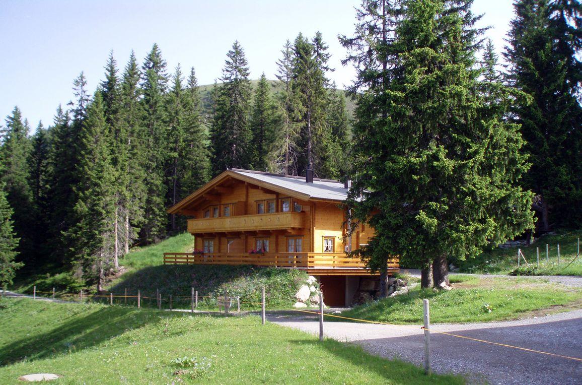 Chalet Brechhorn Landhaus, Frontansicht3