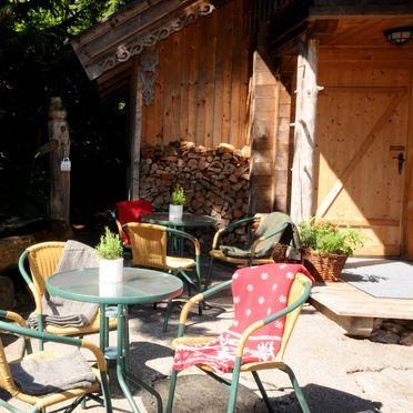 Josef-Speckbacher-Hütte, Terrasse