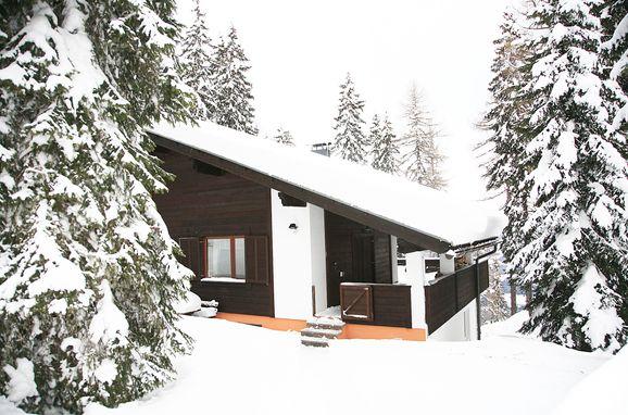 Winter, Alpine-Lodges Petra in Arriach, Kärnten, Kärnten, Österreich