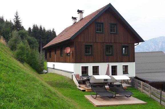 Sommer, Druckfeichter Hütte in Pruggern, Steiermark, Steiermark, Österreich