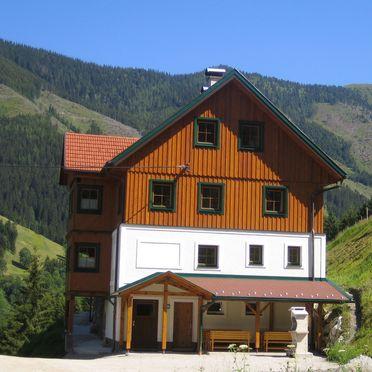Frontansicht, Druckfeichter Hütte, Pruggern, Steiermark, Steiermark, Österreich