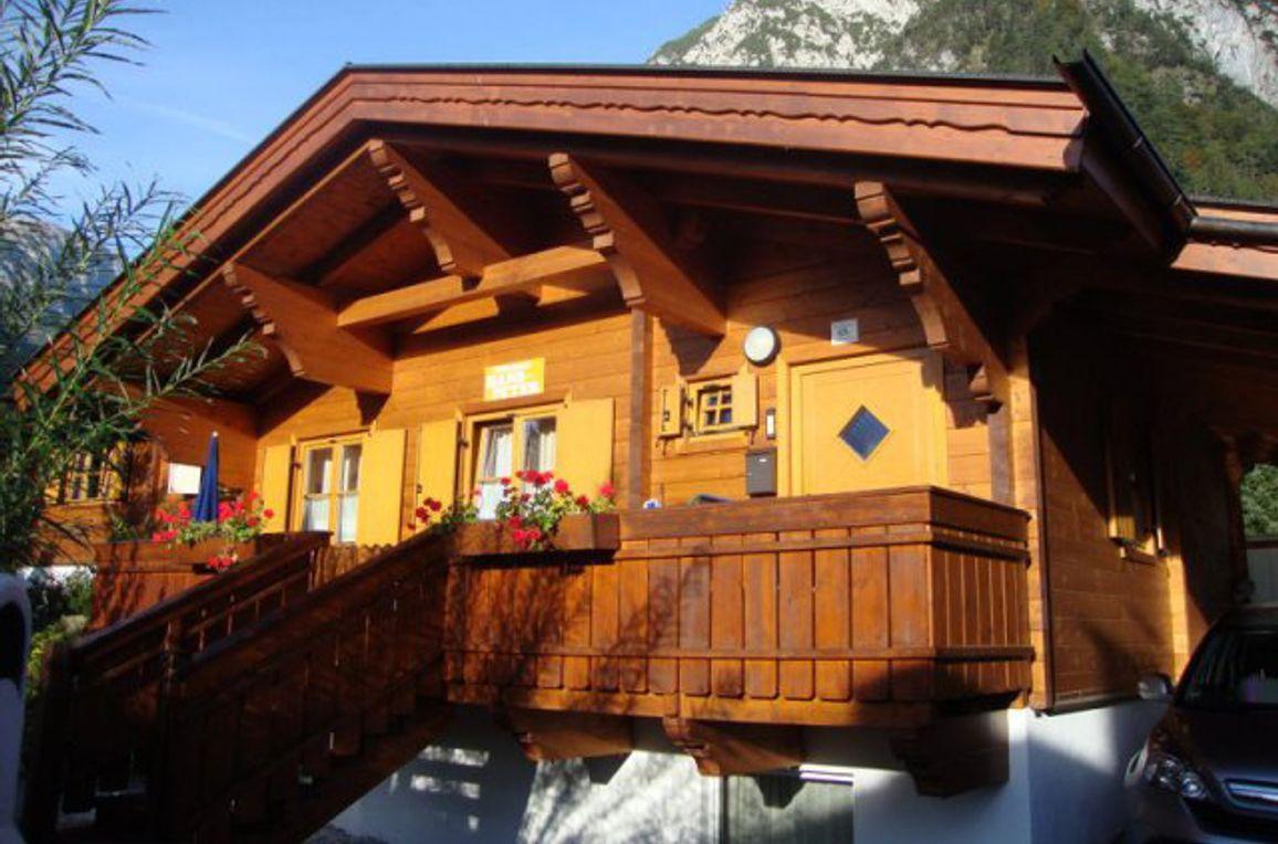 Alpen-Chalets Haus Barbara, Frontansicht1