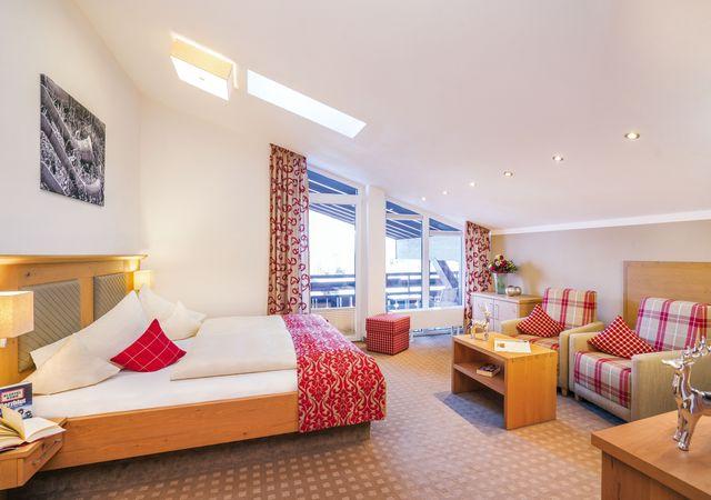 Doppelzimmer de Luxe 35 qm