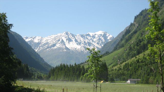 Weiße Berge - Grüne Täler