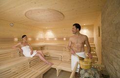Biohotel Mattlihüs: Sauna-Aufguss - Biohotel Mattlihüs, Oberjoch, Allgäu, Bayern, Deutschland