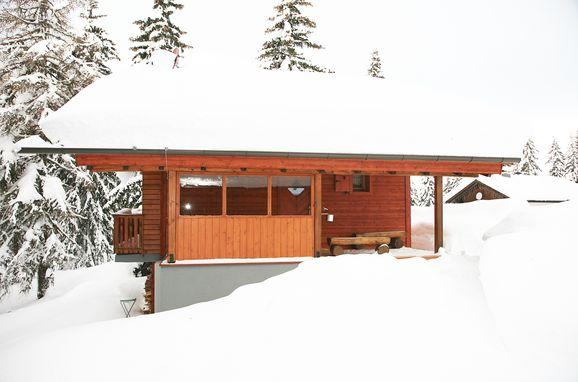 Winter, Alpine-Lodges Theresia in Arriach, Kärnten, Kärnten, Österreich