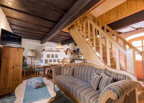 Country house apartment (4/6) - Bio-Landgut Tiefleiten
