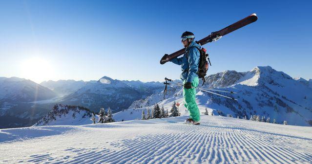 Skifahren & Wandern