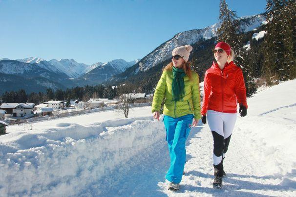 Winter-Schnupperwandern im Naturpark Tiroler Lech (Suite M/L) | 4 Nächte