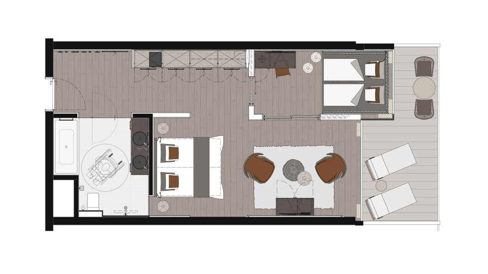 NEW! Chalet Suite 2/4