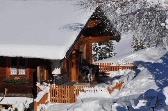 Winter, Blockhaus Zwislegg in Wagrain, Salzburg, Salzburg, Österreich