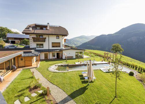 Biohotel Pennhof: Morgenstimmung - Pennhof, Barbian (Bozen), Trentino-Südtirol, Italien