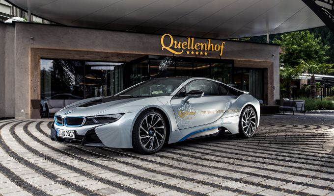 neu bmw i8 quellenhof luxury resort passeier. Black Bedroom Furniture Sets. Home Design Ideas