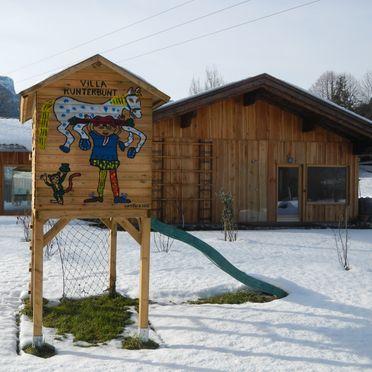 Winter, Achberghütte in Unken, Salzburg, Salzburg, Austria