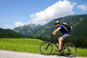 Plaisir pour les cyclistes au Schwarzbrunn | 5 nuits