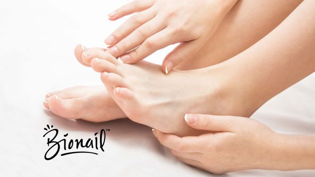 Bioactive manicure or pedicure