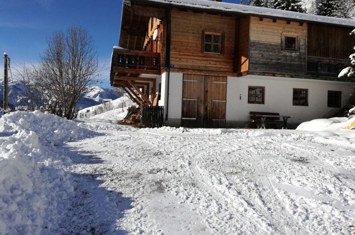 Achthütte, Winter