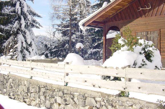 Winter, Kappacher Hütte in Bad Vigaun, Salzburg, Salzburg, Österreich