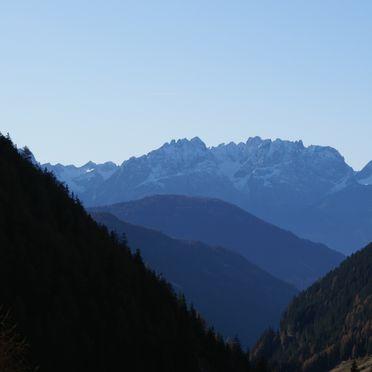 Almwiesenhütte, Ausblick Lienzer Dolomiten