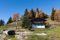 Hütten in der Nähe des Millstätter Sees in Kärnten