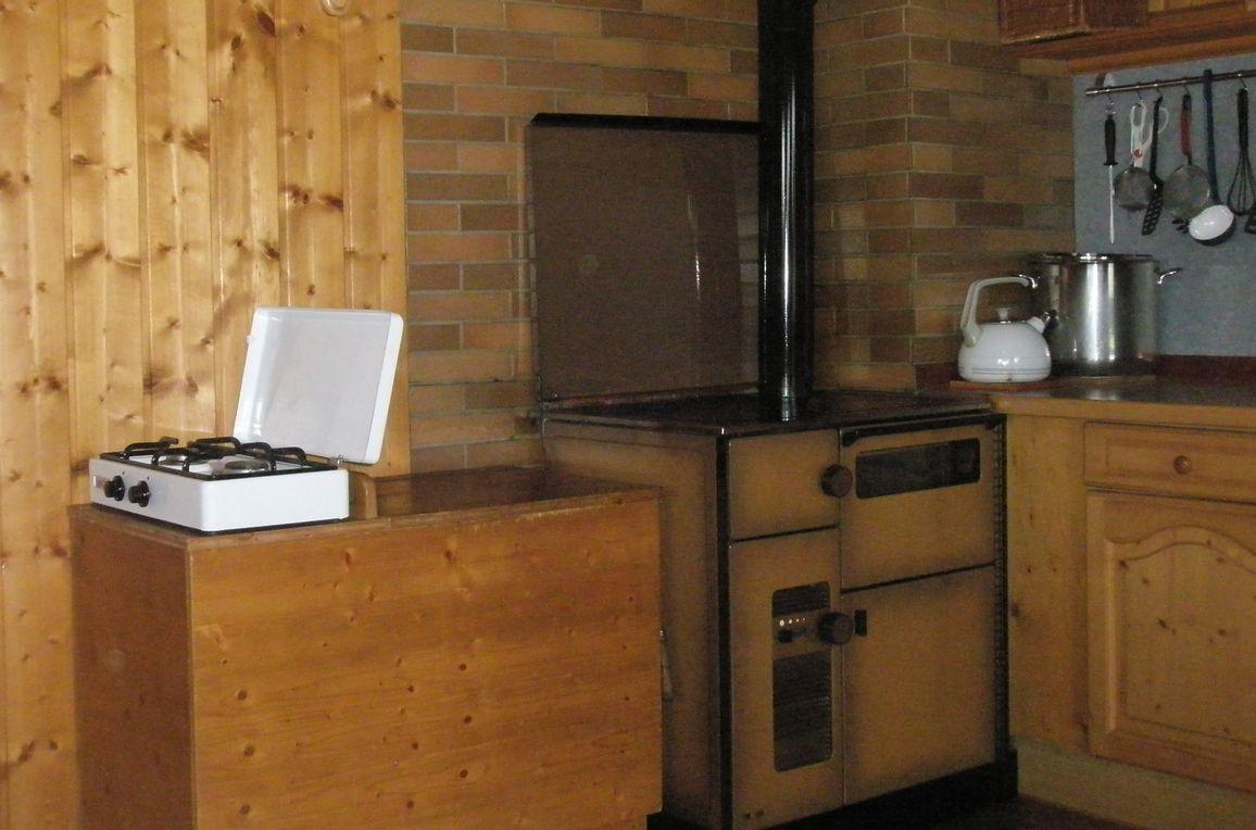 Mölltalhütte, Küche