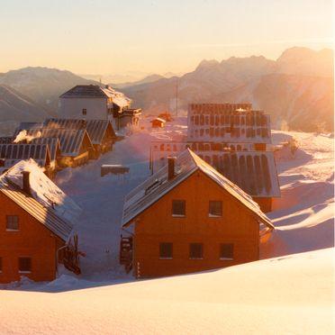 Hochsteinhütte am Feuerkogel, Winter