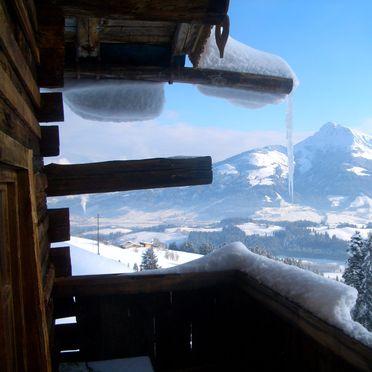 Chalet Alpenglück, Aussicht Balkon