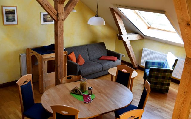 Biohotel Gut Nisdorf: Appartement