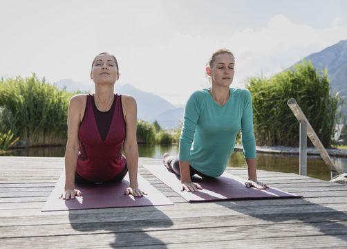 Biohotel Holzleiten: Yoga inmitten der Natur - Bio-Wellnesshotel Holzleiten , Obsteig, Tirol, Österreich