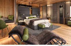 Biohotel Holzleiten: Doppelzimmer Lärche Deluxe - Bio-Wellnesshotel Holzleiten , Obsteig, Tirol, Österreich