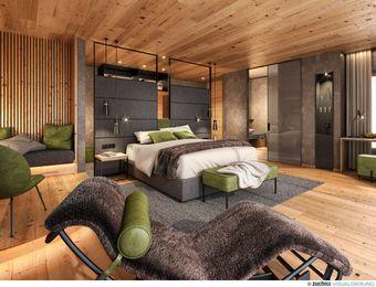 Doppelzimmer Lärche Deluxe - Bio-Wellnesshotel Holzleiten