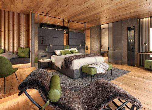 Biohotel Holzleiten: Doppelzimmer Lärche Deluxe (1/1) - Bio-Wellnesshotel Holzleiten