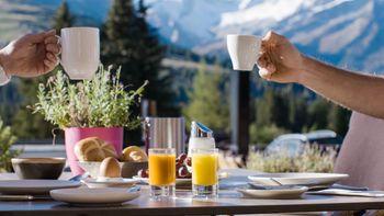 Gipfelfrühstück