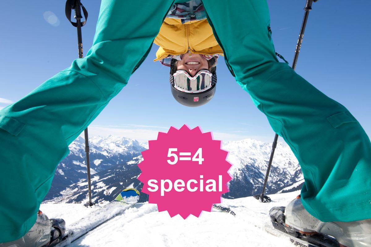 Ski Closing 5=4 Special | 1 Tag & 1 Nacht geschenkt