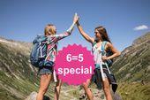 BergLIEFDE 6=5 Special | 1 dag en 1 nacht gratis