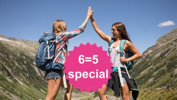 MountainLOVE 6=5 special | stay 6 nights, pay 5