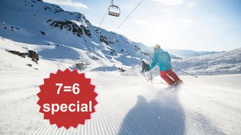 7=6 Sun☼Skiing Deluxe Special | 1 day & 1 night for free