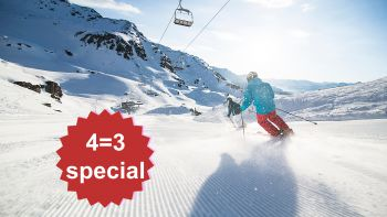 4=3 Sun☼Skiing Deluxe Special | 1 day & night for free