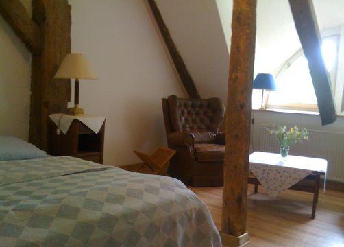 "Double room ""small lake view"" (1/1) - Haus am Watt"