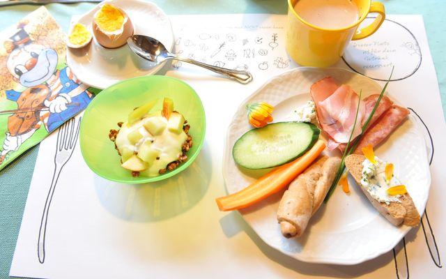 Bio-Kinderhotel Benjamin: Gesundes Frühstück