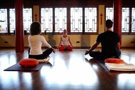 Yoga steht im Hotel Hochshober ganzjährig auf dem Programm