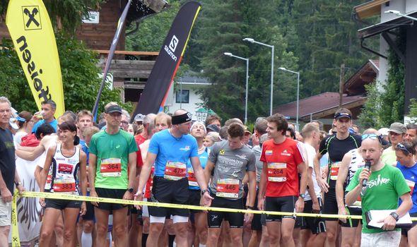 Im Quellenhof Team zum Leutascher Halbmarathon