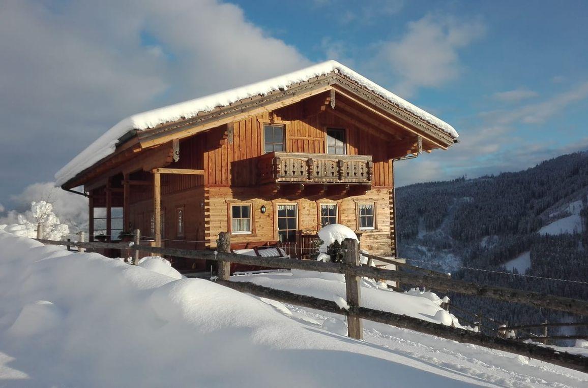 Rauchenbachalm, winter