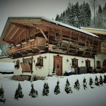 Winter, Almchalet am Hochkönig in Mühlbach am Hochkönig, Salzburg, Salzburg, Österreich
