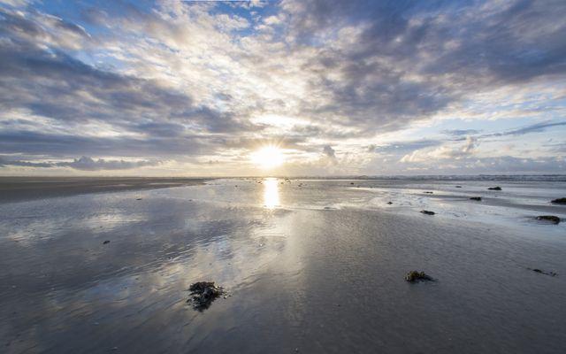 Biohotel Strandeck: Willkommen am Strand